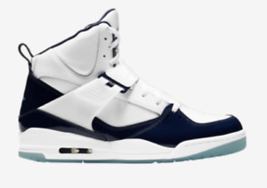 Jordan Flight 45 High Patent Leather Navy UNC SOLD OUT Size 9.5 Selling for $200