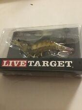 TARGET  LIVE SWIMBAIT  FISHING LURES