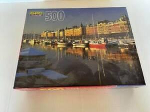 GPC Puzzle Stockholm, Sweeden 500 Pieces