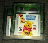 WINNIE THE POOH ADVENTURES - NINTENDO GAME BOY COLOR - FREE S/H - (GB1)