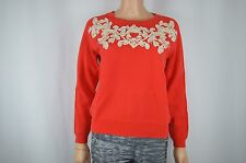New J Crew J.Crew Red Sweater Sweat Shirt Size S
