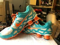 Nike id Turbo Shox Running Shoes size 14
