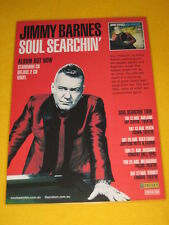 Jimmy Barnes - 2016 Australian Tour - Soul Searchin'  Tour Poster - Cold Chisel