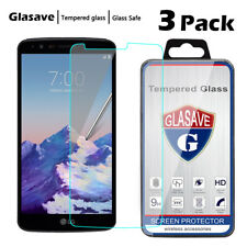 [3-Pack] Anti Scratch Tempered Glass Screen Protector FIlm For LG Stylo 3 LS777