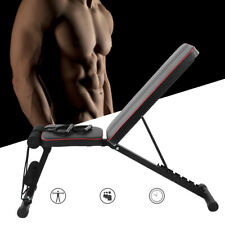 New listing Adjustable Fitness Exercise Weight Bench Home Gym Incline Decline Dumbbell Bench