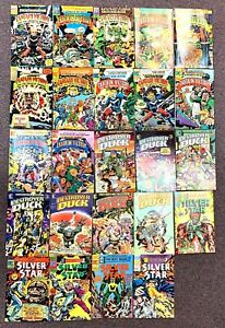 Lot 24 JACK KIRBY PACIFIC COMICS DESTROYER DUCK #1-7 CAPTAIN VICTORY SILVER STAR