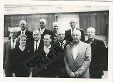 "Vintage B/W Photo-Fargo, North Dakota Power Company Group 5""x7""+Names, Yrs Svc"