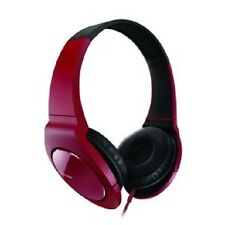 PIONEER SE-MJ711-R FULLY ENCLOSED DYNAMIC HEADPHONES WITH POWERFUL BASS RED