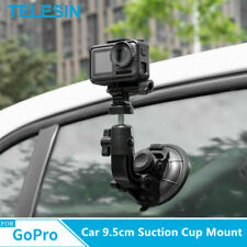 TELESIN 9.5cm Car Suction Cup Mount Tripod for GoPro DJI Sport Action Camera