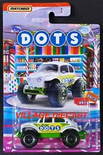 2020 Matchbox Candy Cars #6 Volkswagen Beetle 4x4 WHITE PEARL / DOTS® / MOC