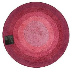 100% Cotton Graduated Tonal Shaggy Soft Bath Mat / Rugs - 2pc Sets or Round mat
