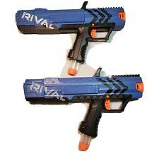 NERF Gun RIVAL APOLLO XV-700 Lot of 2 Blue Blasters and Clips