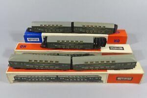 H 84846 Sammlung originalverpackter Doppelstockzugwagen