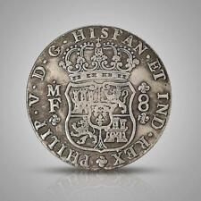 1741 Spanish Philip Silver Dollar Commemorative Coin Gift