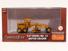 Caterpillar Cat Diesel No.12 Motor Grader 1/87 Scale Model By Norscot 55173