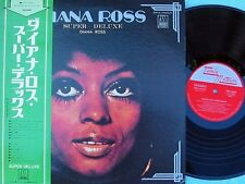 Diana Ross ORIG JAP LP Super deluxe EX '73 Tamla Motown SWX10025 Soul Supremes