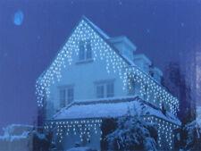 Icicle Holiday Lights Ice Rain Pine Cone Christmas Lights Outdoor Inside New