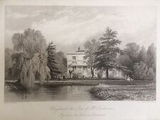 1842 Print; Claylands, Vauxhall, London