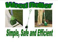 Weed Killer Roller No Drift Lawn Edge Tool Trimmer Garden Dad Mum Sprayer Gift