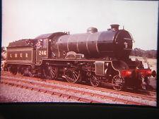 1 x 35 mm Transparency Vintage Train~Rail 150 Grand Steam Cavalcade (Ref R1 008)