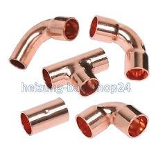 80 cuivre loetfittinge COUDE ANGLE socket-pièce en T 22