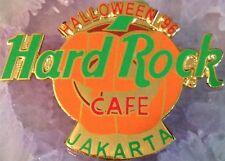 Hard Rock Cafe JAKARTA 1996 HALLOWEEN PIN Pumpkin Jack-o-Lantern - HRC #3796