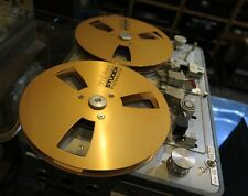"A pair Reel to Reel REVOX STUDER empty TAPE 1/4""metal reel nagra"