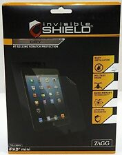InvisibleShield for Apple iPad Mini 1, 2, & 3 by ZAGG DRY Full Body NEW