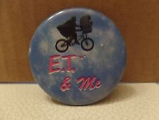 E.T. The Extra-Terrestrial E.T. And Me Photo Button - Vintage
