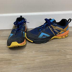 Mens Merrell Cobalt Blue Lace Up MQM Flex GTX Trainers : J99809 Size 12