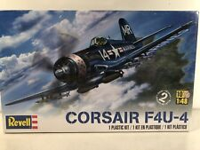 REVELL Corsair F4U-4 1/48 Sealed Cellophane Airplane Model Fighter WWII Sealed