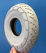 Reifen 3.00-4, grau, Racing, für Elektromobil Elektro Rollstuhl Elektroscooter