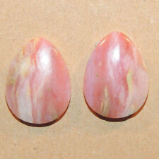 Pink Andean Opal Cabochon 20x16mm with 4mm dome from Peru (1732)