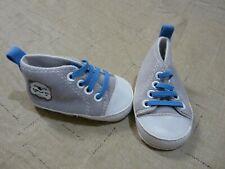 Baby Gear Baby Boy Soft Shoe 3-6 Month Grey Blue