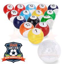 16 Palloni da CalcioBiliardo Professionali calcio biliardo Snookball