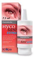 Hycosan Extra Preservative-Free Lubricating Eye Drops 7.5ml