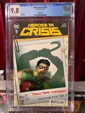 HEROES IN CRISIS #5 CGC 9.8, VARIANT! DC COMICS (2005)