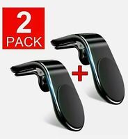 2 x Car Magnetic Mount Kit Phone Holder Dash Ball 360 Degree Support Stand US
