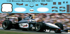 1/43 McLaren Mercedes MP4/14 1999 Sponsor Decals Decal TBD11