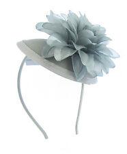 Grau blumen kopfschmuck eine julia kappe & band, Hochzeit, Rennen, Ascot