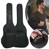 "41"" Acoustic Guitar Backpack Double Straps 2 Handle Padded Guitar Backpack^"