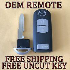 Oem Mazda Cx5 Cx3 3 Speed 3 Smart Key Proximity Keyless Remote Fob Wazske13d02 Fits Mazda