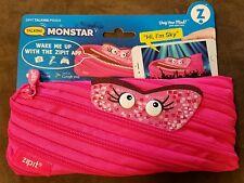 Zipit Talking Monstar Monster Talking Pouch Pink Pencil Pouch Sky New