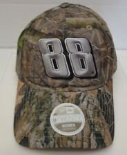 Dale Jr 88 Women's New Era 39THIRTY M/L Trucker Cap Hat Camo