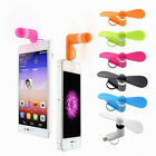FAN 3-IN-1 SMART PHONE MINI air cooling for car office travel iPhone micro B C