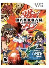 New listing Bakugan: Battle Brawlers Nintendo Wii Kids Game 1 U