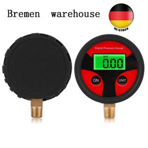 Digital 0-200PSI LCD Anzeige Luftdruckprüfer Reifendruck Manometer Messgerät