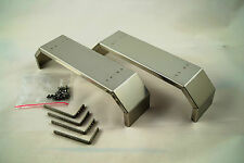 1/14 Fender pour 2 Axe pour Tamiya Lkw Chassis - Inox