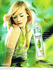 PUBLICITE ADVERTISING 065  2000  TIMOTEI   spray coiffant