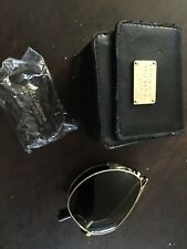 Dolce & Gabbana Folding Aviator Sunglasses GOLD EDITION DG2106K 1027/58 NEW